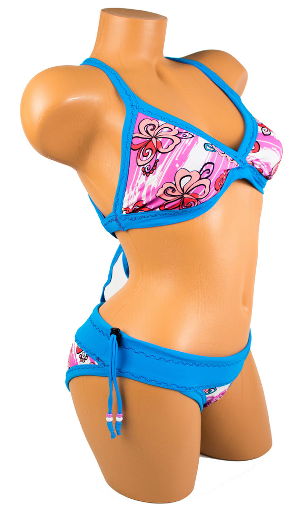 Tica Surf Single Cross Back Top / Bikini Bottom M - TS1 - TicaSurf USA