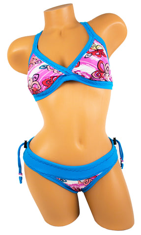 Tica Surf Single Cross Back Top / Bikini Bottom M - TS1