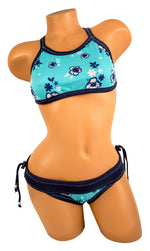 Tica Surf Halter Top / Cheeky Bottom M - TS3