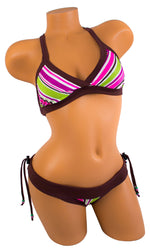 Tica Surf Single Cross Back Top / Brazilian Bottom S - TicaSurf USA