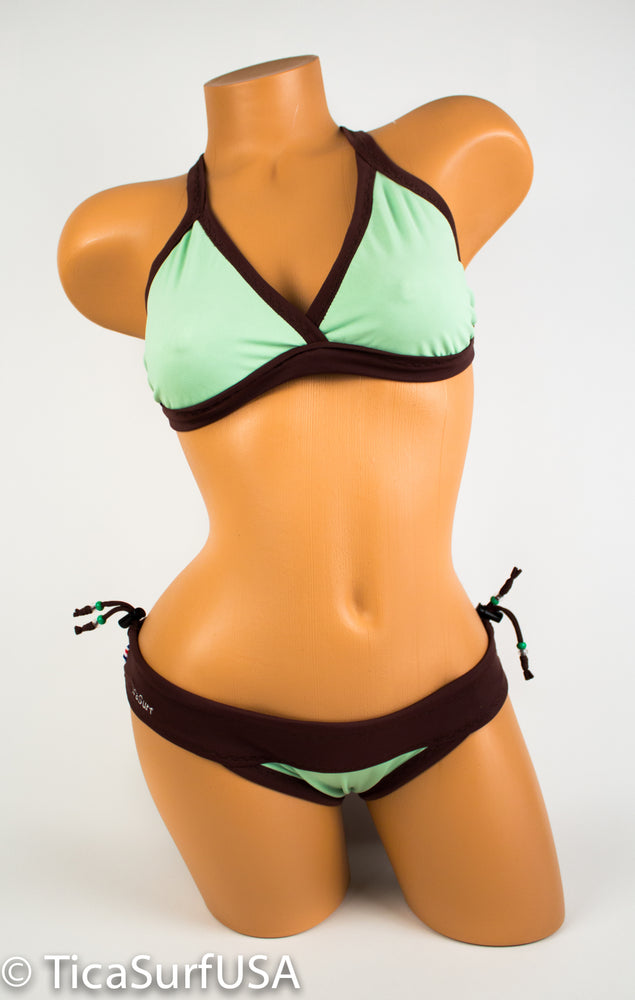 Tica Surf Reversible Sports Bikini - Single cross back top / Cheeky Bottom | See all colors