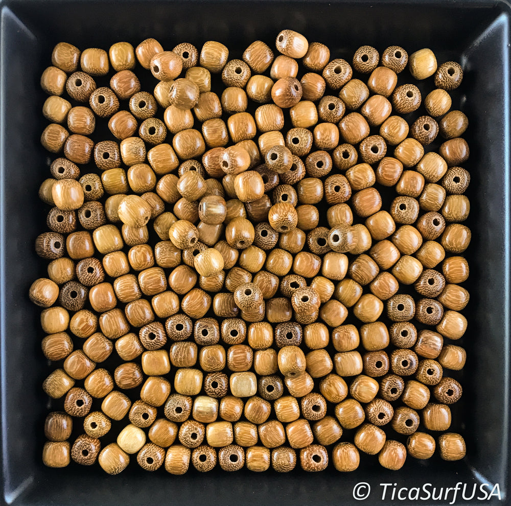 Round Wood Beads RB10 - 10 Pieces - See all colors