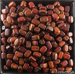 Square Section Bar Wood Beads Unstained Polished Lacquered Handcrafted RB13A Rosewood - 10 Count - TicaSurf USA