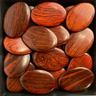 Flat Oval Arrow Wood Beads RO39AS - 10 Pieces - See all colors
