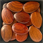 Flat Oval Arrow Wood Beads RO39 - 10 Pieces - See all colors