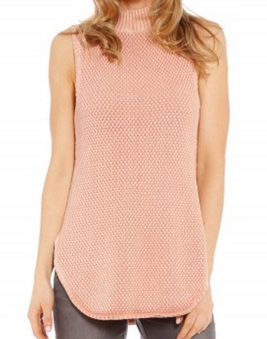 Blush Knit  Sleeveless by All Ebout Eve