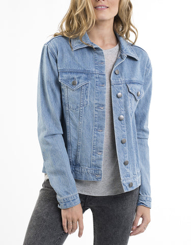Peggy Blue Denim Jacket by All About Eve
