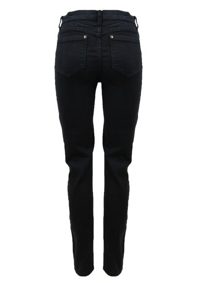 Ellis & Dewey Denim High Rise Skinny Jeans - Black