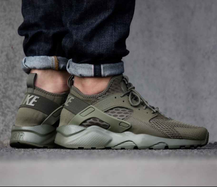 nike air huarache army green