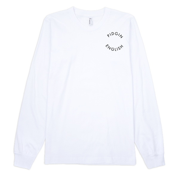 Pidgin English Shield- Long Sleeve