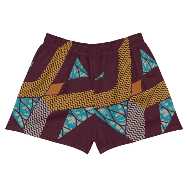 Voyage 1 Batik Women's Athletic Shorts