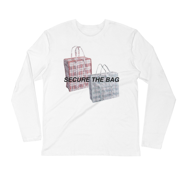 Secure the Bag Long Sleeve Fitted Crew