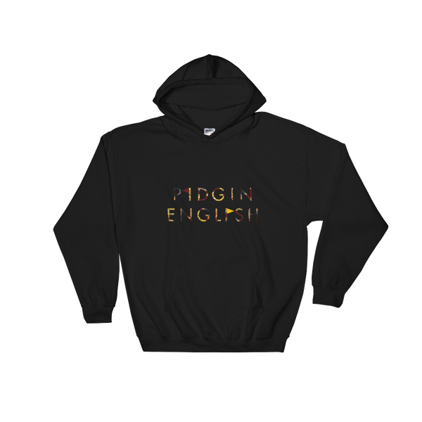 Pidgin English Hooded Sweatshirt (Flags)