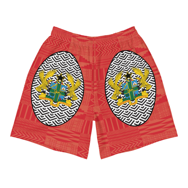 Ghana Coat of Arms Men's Athletic Shorts
