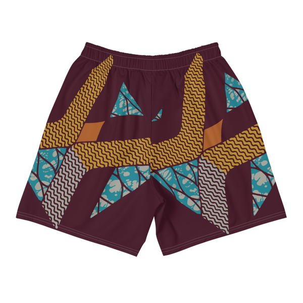 Voyage 1 Batik Men's Athletic Shorts