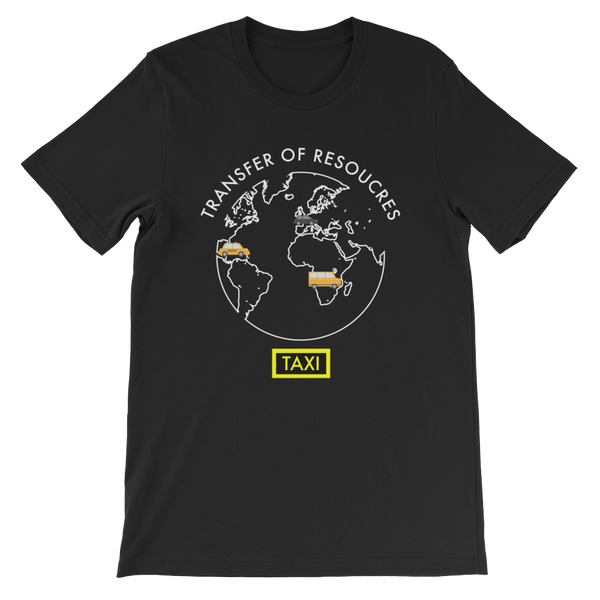 Mode of Transportation Short-Sleeve Unisex T-Shirt