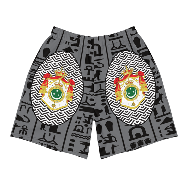 Egypt Coat of Arms Men's Athletic Shorts