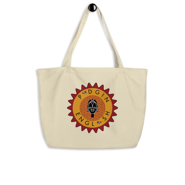 I Be Lady Large organic tote bag