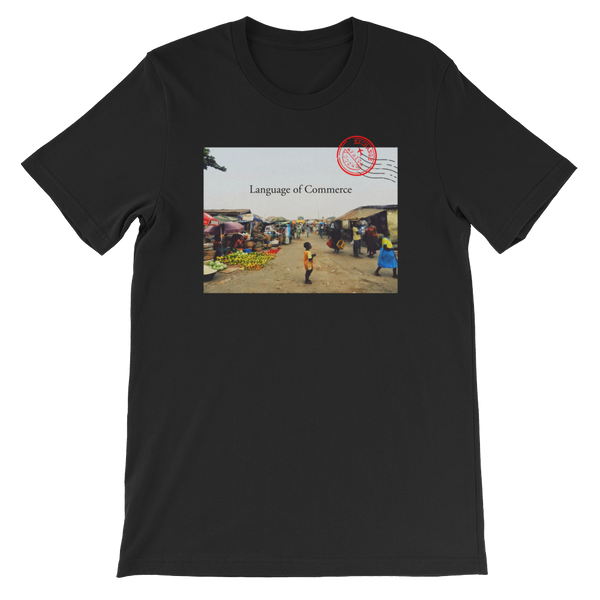 Commerce Postcard Short-Sleeve Unisex T-Shirt