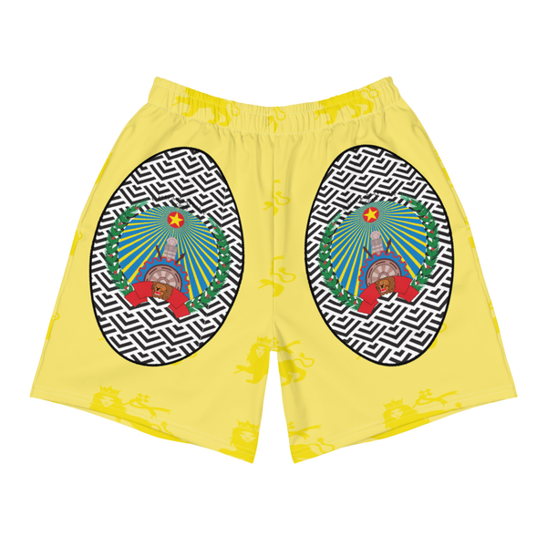 Ethiopia Lion of Judah Men's Athletic Shorts
