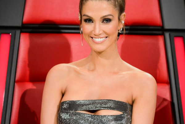 Pushmataaha Delta Goodrem  The Voice Australia  June 2016  Shard Earrings