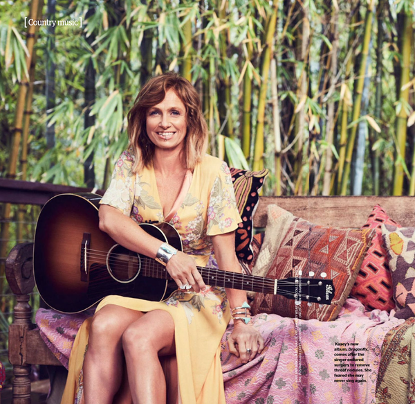 Kasey Chambers Australian Women's Weekly January 2017