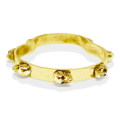 Skull Head Bangle | Pushmataaha