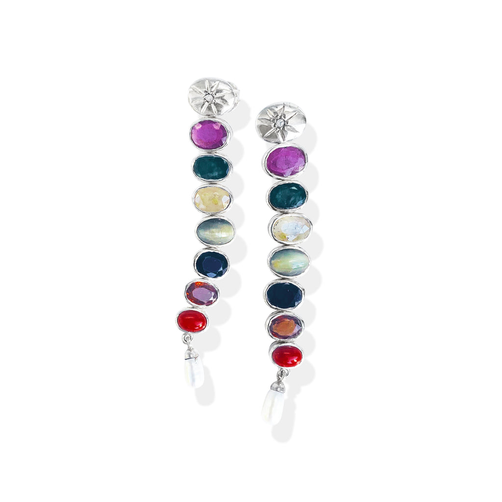 The Darling Multi Drop Earrings | Push Personal