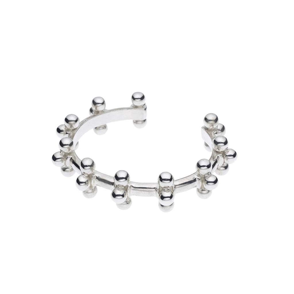 Mema Cuff in Sterling Silver