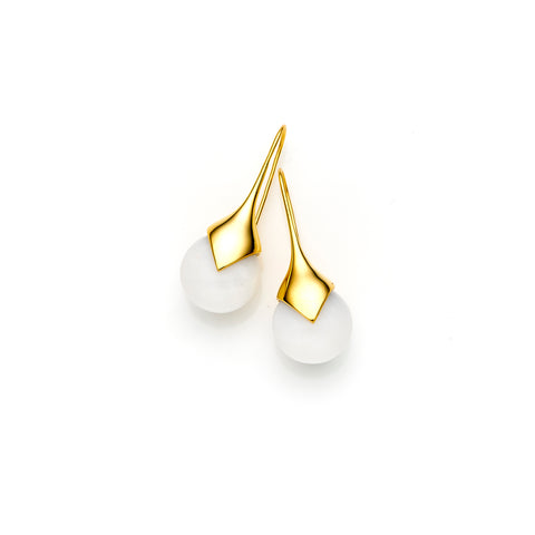 Medium Masai Earrings | Gold Plate | select stones