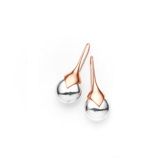 Medium Masai Earrings | Rose Gold Plate | select stones