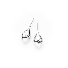 Medium Water Masai Earrings | Sterling Silver | select stones