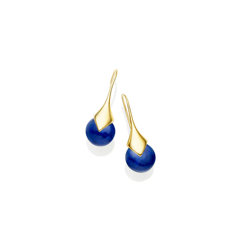 Mini Masai Earrings | Gold Plate | select stones