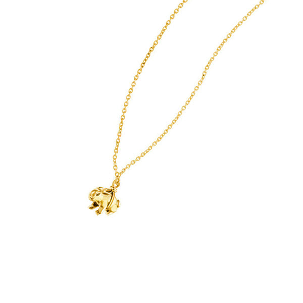 Rabbit Necklace | Gold Plate