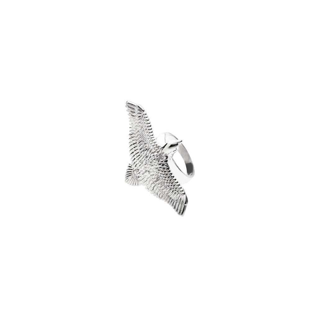Flying Eagle Ring | Sterling Silver