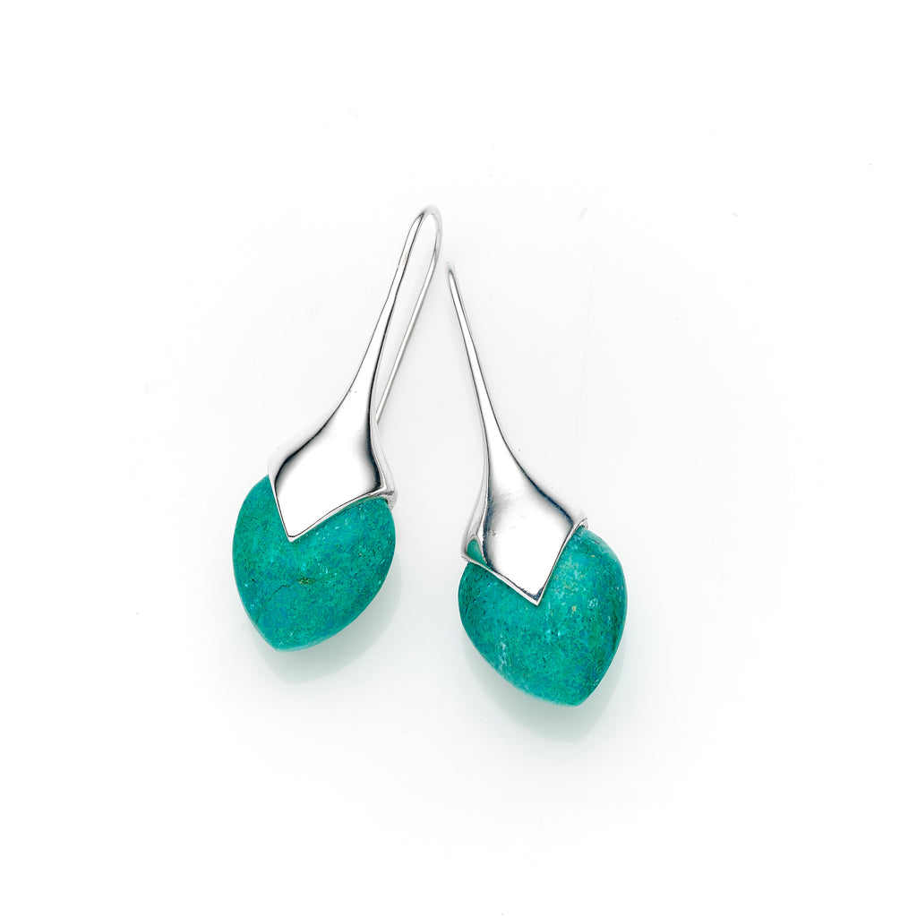 Mid Water Masai Earrings | Pushmataaha