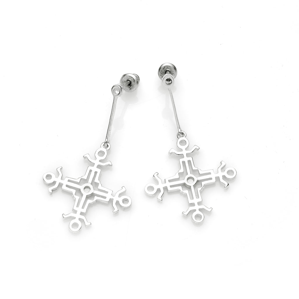 Hangman Square Drop Earrings | Pushmataaha