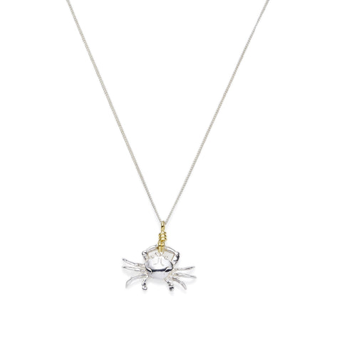Cancer Necklace | Sterling Silver with Gold Plate