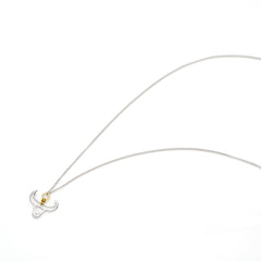 Year Of The Ox Necklace | Sterling Silver with Gold Plate
