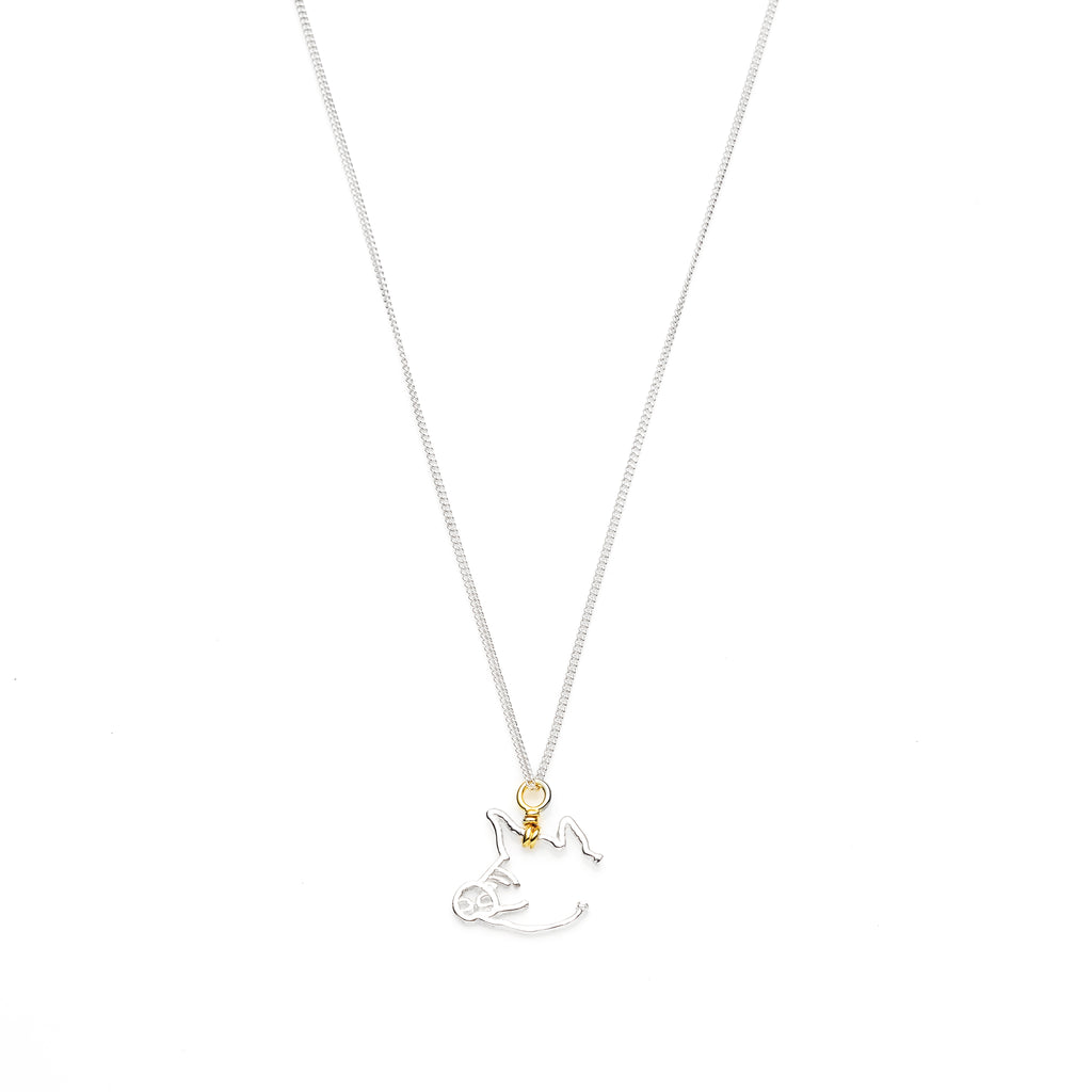 Year Of The Pig Necklace | Sterling Silver with Gold Plate