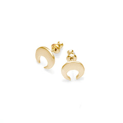 Crescent Moon Studs | Pushmataaha