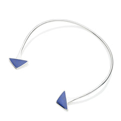 En Tribe Neck Cuff | Lapis Lazuli with Sterling Silver