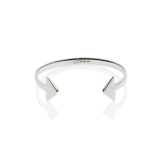 En Tribe Cuff in Sterling Silver