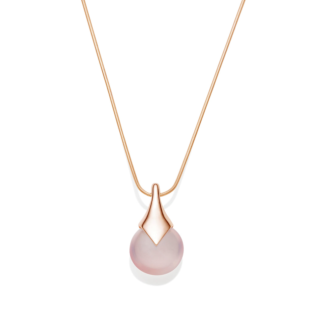 Masai Pendant | Rose Gold Plate | select stones
