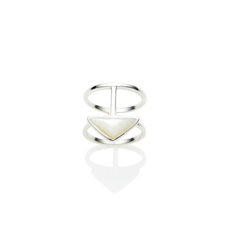 En Tribe Ring | Mother of Pearl