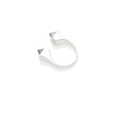 Twin Peaks Ring | Sterling Silver