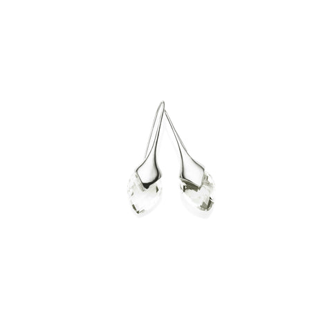 Mini Water Masai Earrings | Sterling Silver | select stones