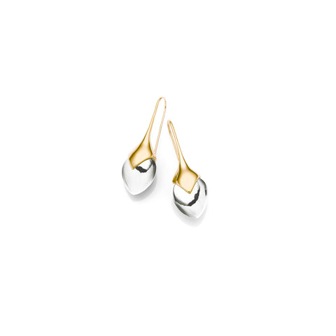 Mini Water Masai Earrings | Gold Plate | select stones
