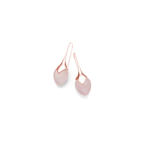 Mini Water Masai Earrings | Rose Gold Plate | select stones