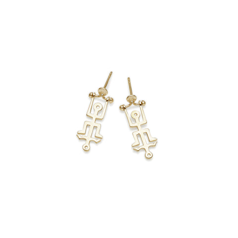 Mini Hangman Earrings